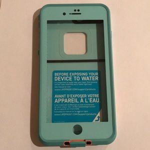 iPhone 7 Plus Blue Lifeproof Case